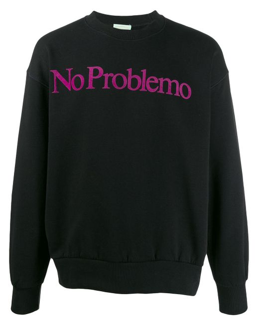 メンズ Aries No Problemo スウェットシャツ Black