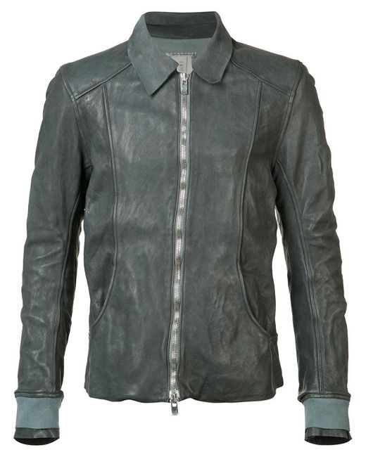 Guidi - Gray Aviator Jacket for Men - Lyst