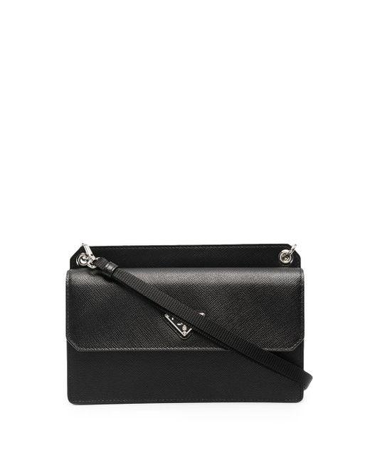 Prada Smartphone-Tasche aus Saffiano-Leder in Black für Herren