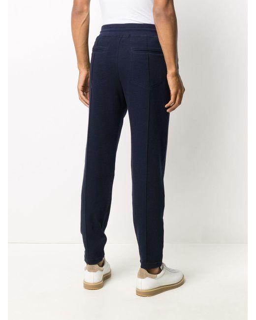 メンズ Brunello Cucinelli ドローストリング パンツ Blue