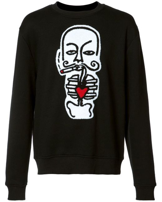 メンズ Haculla Heart スウェットシャツ Black