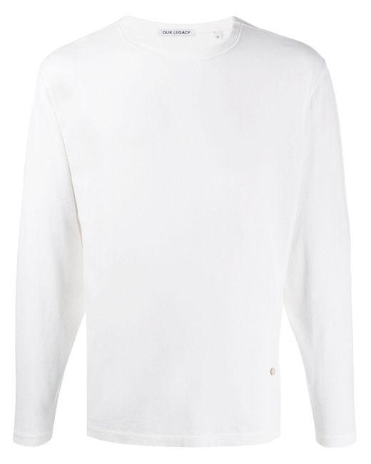 メンズ Our Legacy ロングtシャツ White