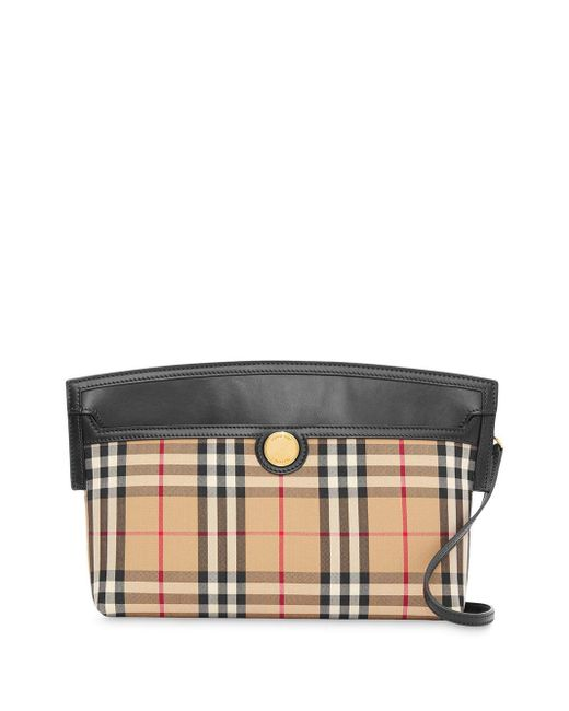 Burberry ソサエティ ヴィンテージチェック ハンドバッグ Multicolor
