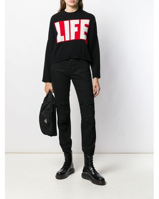 Pull Life Moncler en coloris Black