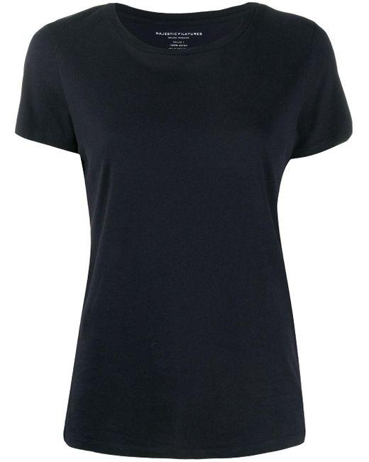 Majestic Filatures ジャージー Tシャツ Black