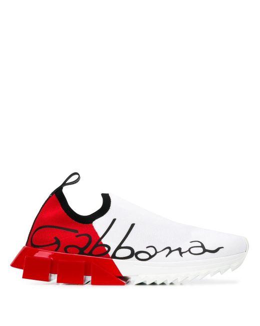 メンズ Dolce & Gabbana ソレント スニーカー Red