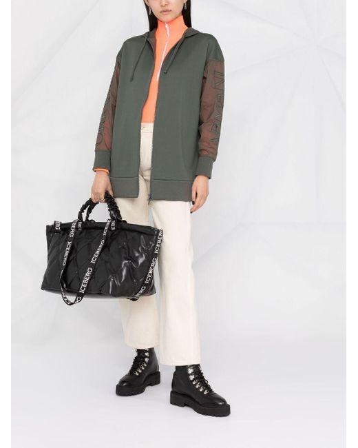 Emporio Armani ロゴ ボンバージャケット Green
