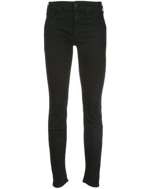 Mother Black Not Guilty Skinny Jeans