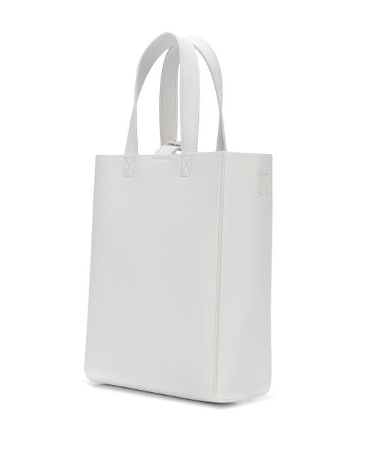 MM6 by Maison Martin Margiela トートバッグ White