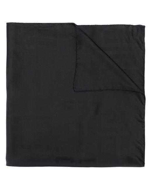 Givenchy プリントロゴ スカーフ Black