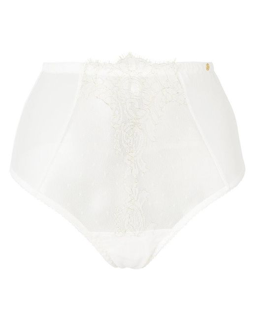 Something Wicked - White High Waisted Briefs - Lyst