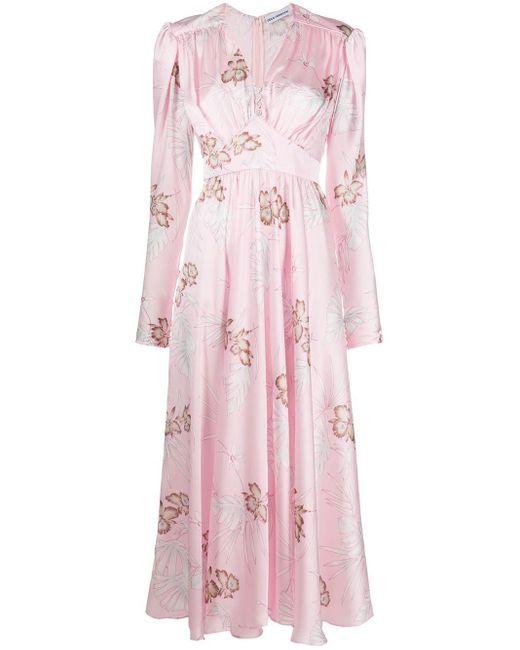 Paco Rabanne フローラル ドレス Pink