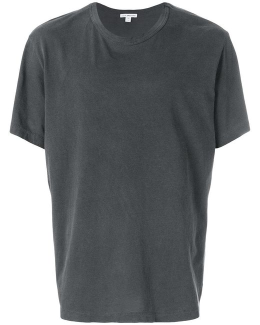 James Perse - Gray Loose Fit T-shirt for Men - Lyst
