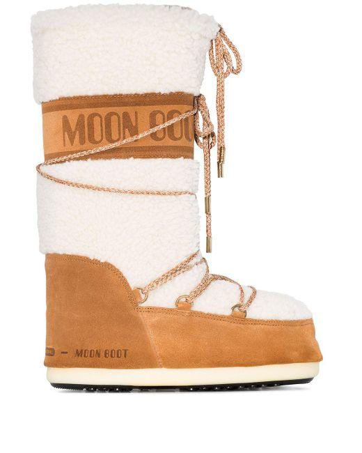 Moon Boot スノーブーツ Brown