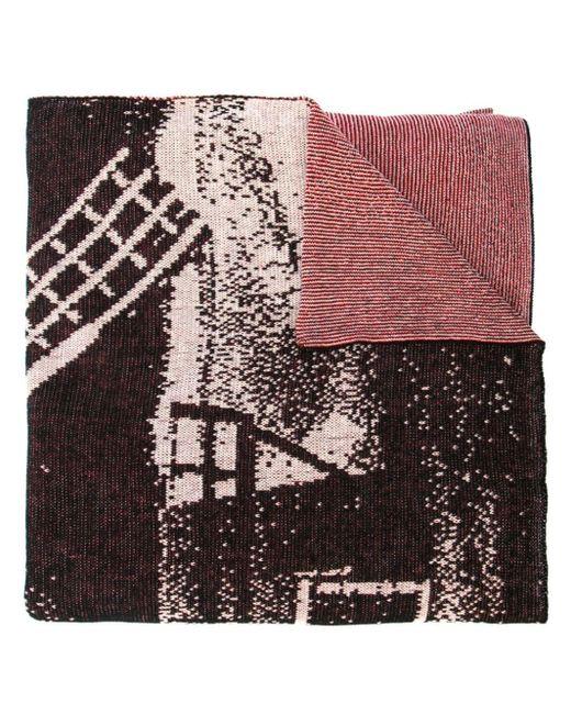 Bernhard Willhelm Windmill スカーフ Multicolor