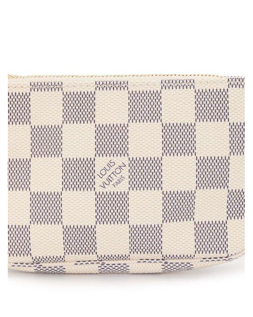 Pouch Mini Pochette Accessories Pre-owned 2007 di Louis Vuitton in White