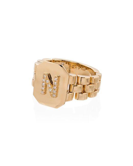 SHAY N ダイヤモンド リング 18kイエローゴールド Metallic