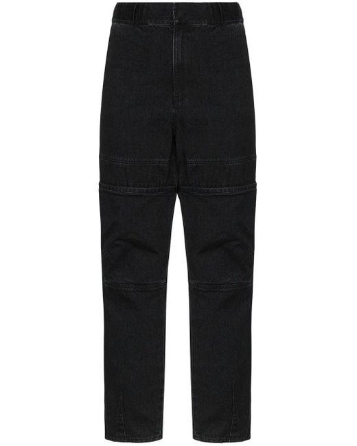 Jeans dritti di Ambush in Black