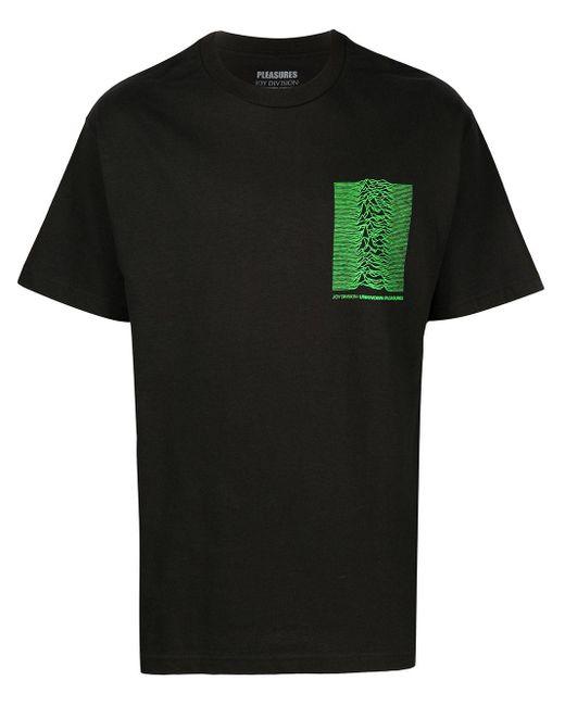 メンズ Pleasures X Joy Divison Up Tシャツ Black