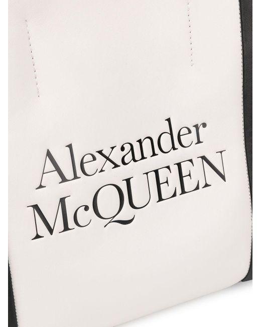 Сумка-шопер С Логотипом Alexander McQueen, цвет: Multicolor