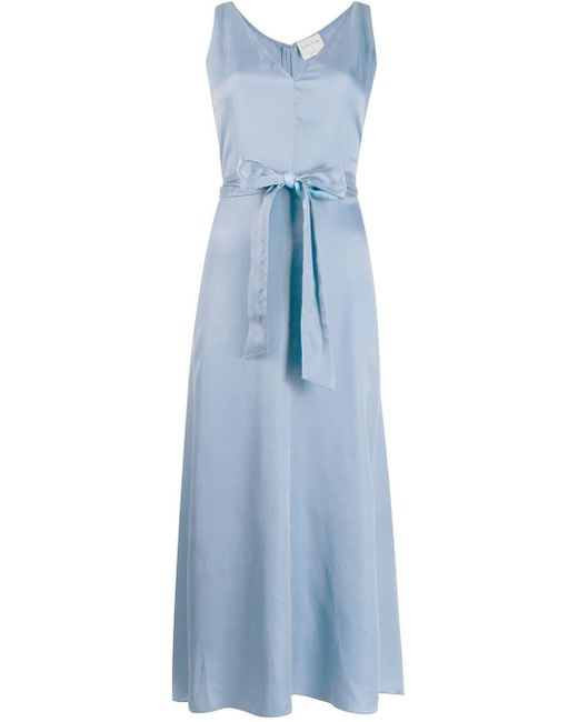 Forte Forte ベルテッド ドレス Blue