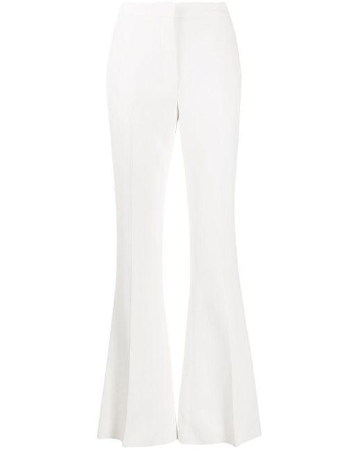 Alexander McQueen テーラード フレアパンツ White