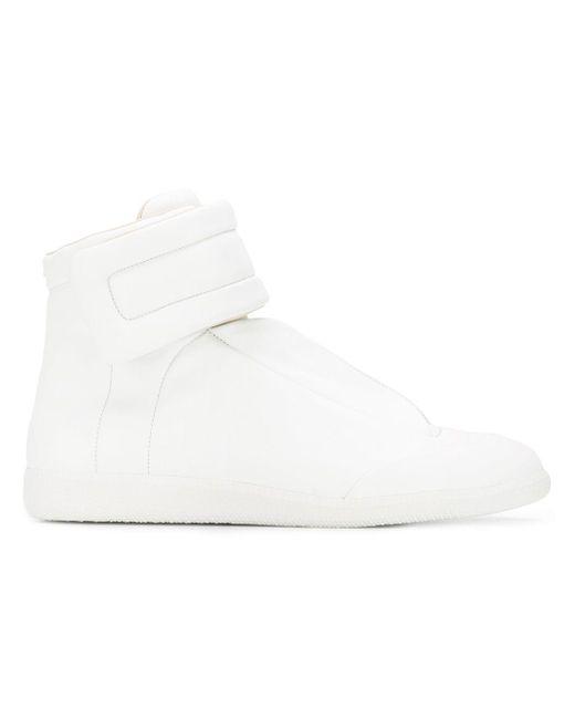 Maison Margiela White 'Future' High-Top Sneakers for men