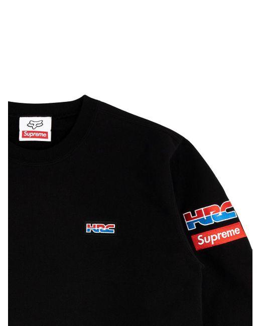 メンズ Supreme Honda Fox Racing スウェットシャツ Black