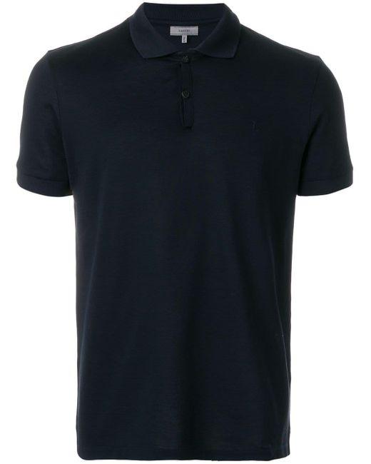メンズ Lanvin クラシック ポロシャツ Blue