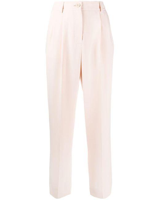 See By Chloé Pantalones de vestir de mujer de color rosa