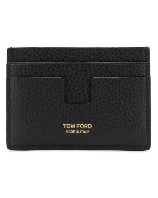 Portacarte T di Tom Ford in Black da Uomo