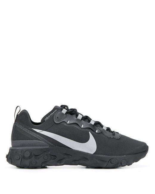 メンズ Nike React Element スニーカー Black