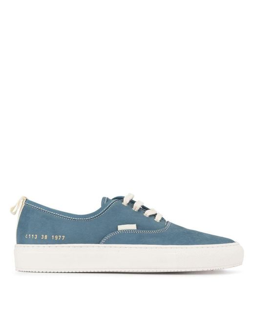 Common Projects Four Hole スニーカー Blue