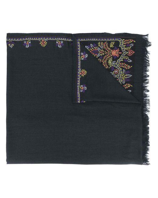 Foulard à fleurs Etro en coloris Black
