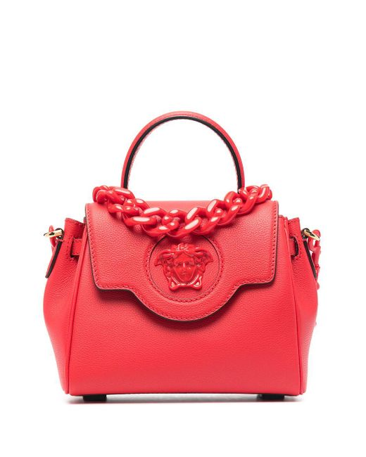 Versace メデューサ バッグ S Red