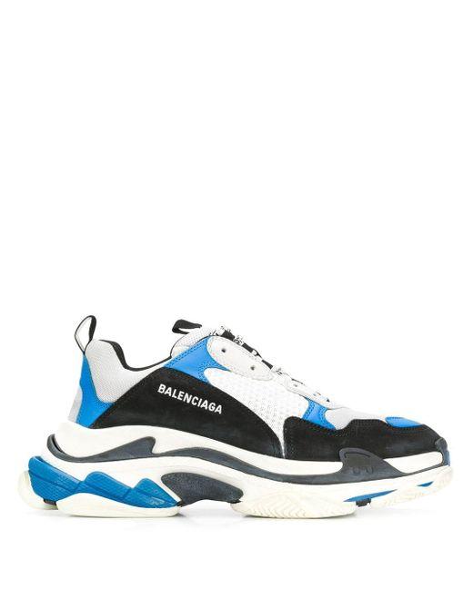 """Sneakers """"Triple S"""" Balenciaga pour homme en coloris Black"""