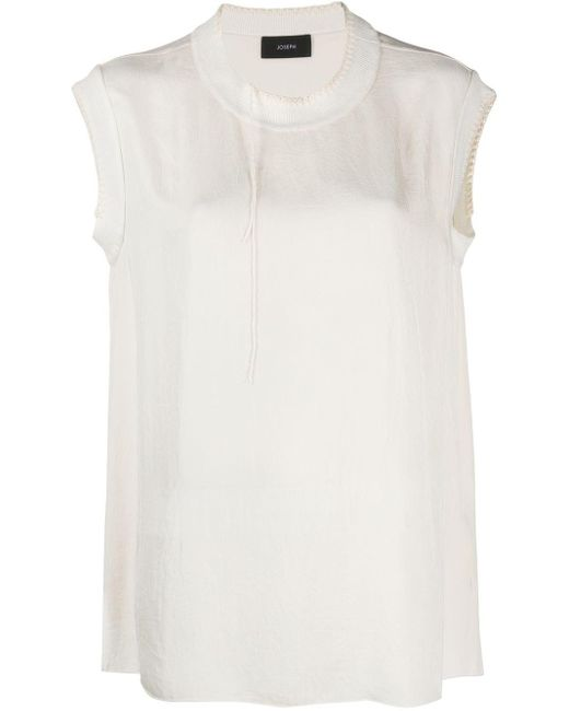 JOSEPH Blusa Bo Washed de mujer n2HqW