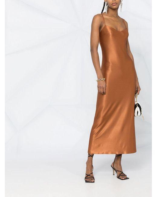 Платье-комбинация Sahara Galvan, цвет: Brown