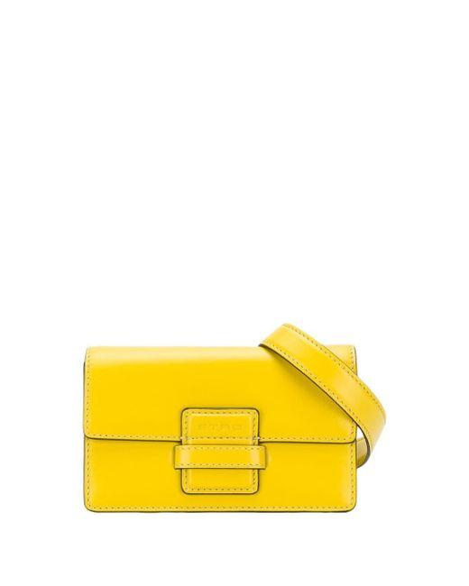 Etro フラップ ベルトバッグ Yellow