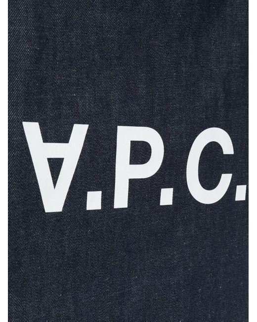 A.P.C. デニム ハンドバッグ Blue