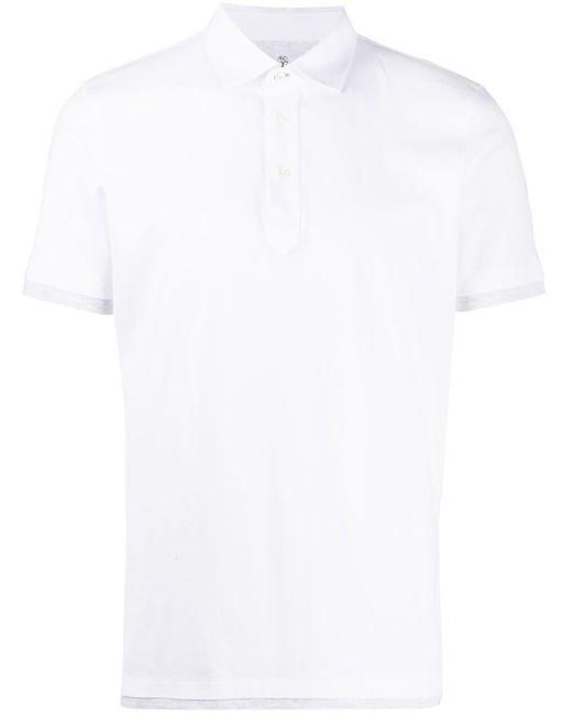 Polo di Brunello Cucinelli in White da Uomo