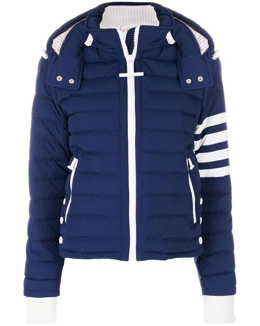 Thom Browne - Blue Padded Jacket - Lyst