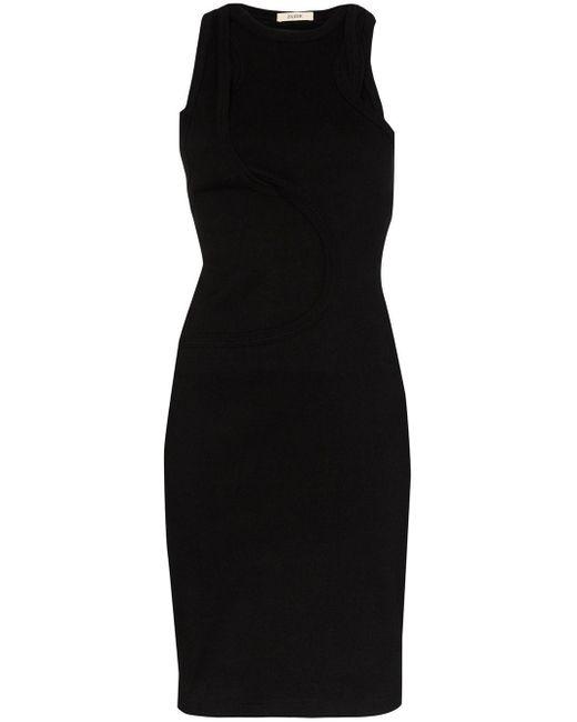 Zilver Juxtaposition ドレス Black