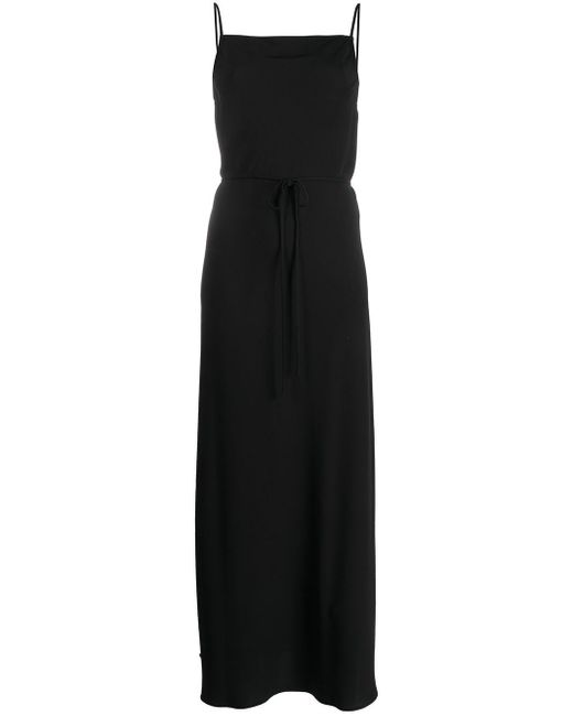 Calvin Klein ロゴ キャミソールドレス Black