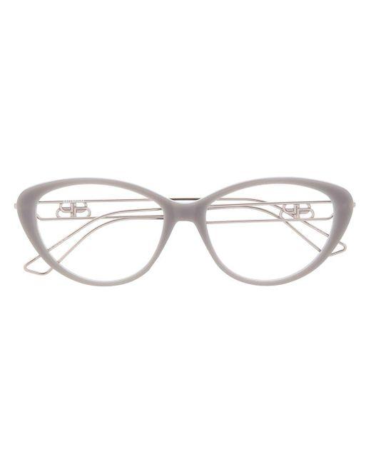 Balenciaga キャットアイ眼鏡フレーム Gray