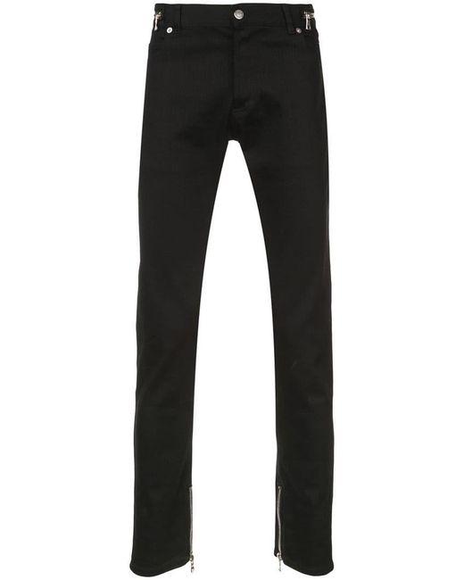 Balmain - Black Low Rise Skinny Jeans for Men - Lyst