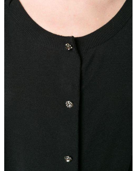 Кардиган Со Сборками Dolce & Gabbana, цвет: Black