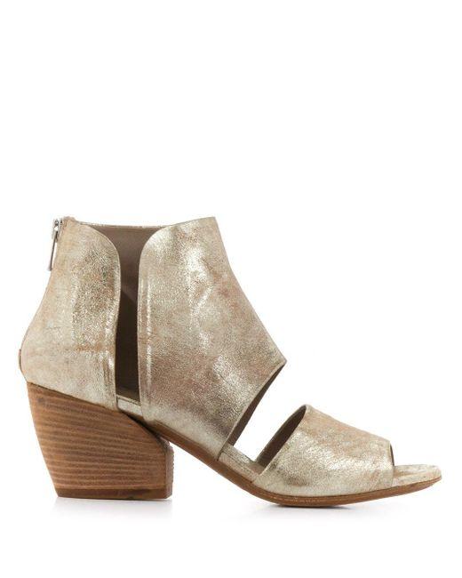 Officine Creative Metallic Cut-out Sandals