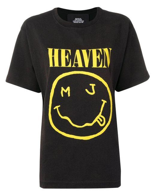 Marc Jacobs Heaven プリント Tシャツ Black