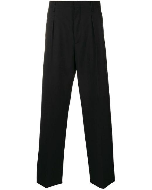 メンズ Valentino テーパードパンツ Black